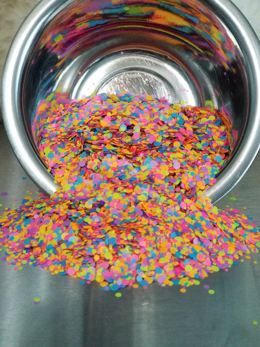 FunFetti Mixed Color Round Glitter
