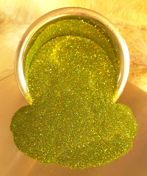 Grinchalicious Holographic Fine Glitter