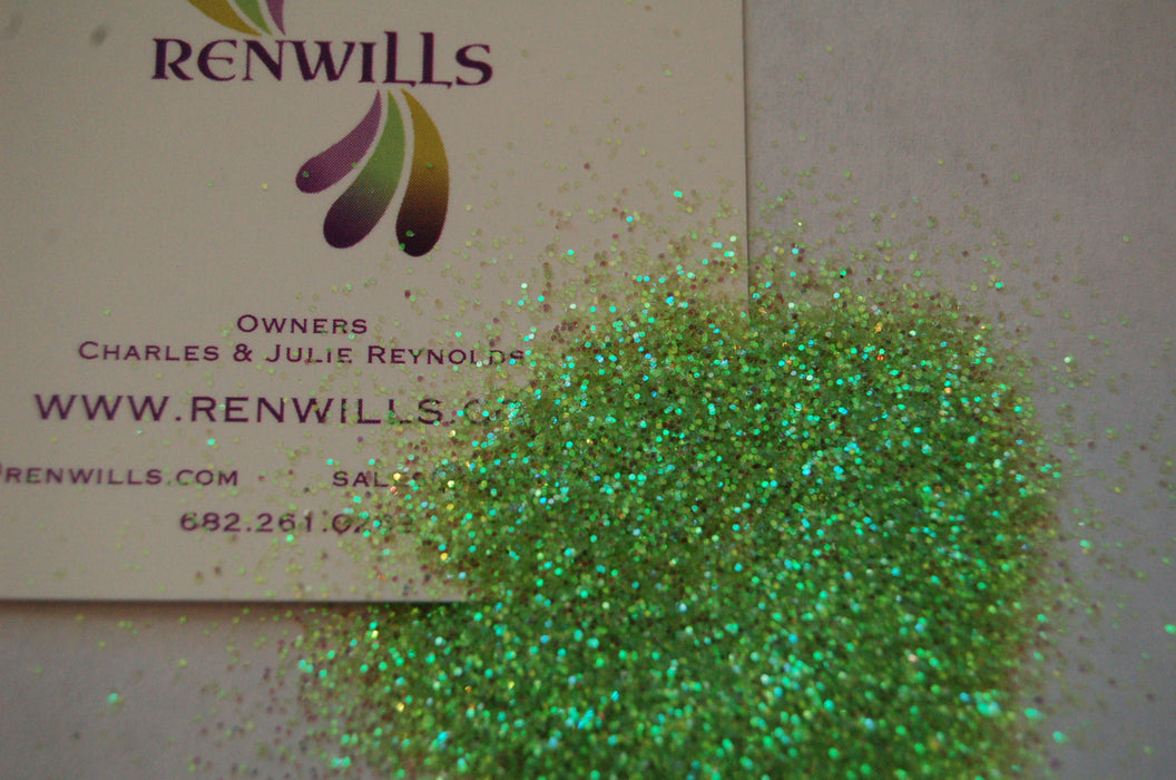 Green Apple Fine Iridescent Glitter