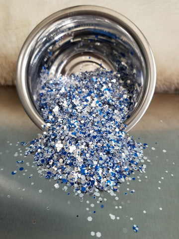 Dallas Cowboys Chunky Iridescent Mix Glitter