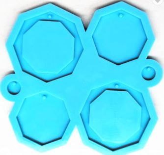 Multi Octagon Earring Mold