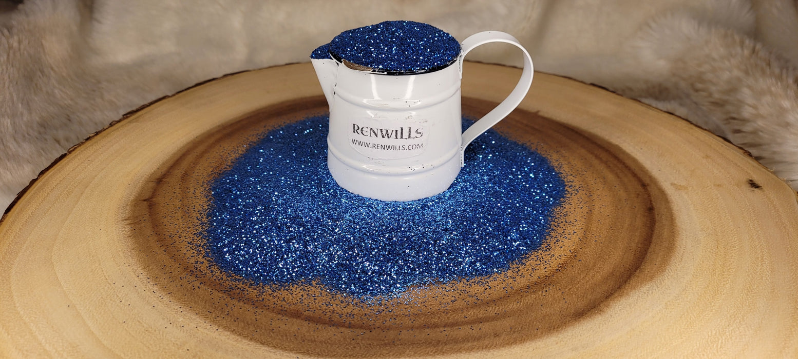 Sea Blue Metallic Fine Glitter