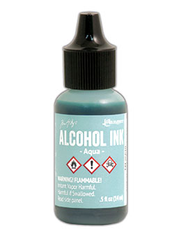 Tim Hotlz Alcohol Ink - Aqua