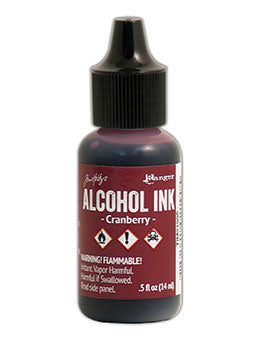 Tim Hotlz Alcohol Ink - Cranberry