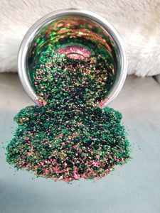 Watermelon Splash Color Shifting Medium Glitter
