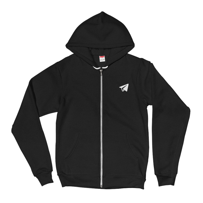 The Tiny Emblem (Zip Up Hoodie)