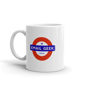 Mind the Email Geek (Mug)