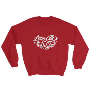 Love At First Send - Red (Crewneck)
