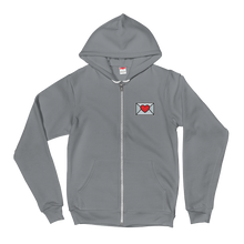 Load image into Gallery viewer, Tiny Love Email Emoji (Zip Up Hoodie)