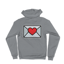 Load image into Gallery viewer, Love Email Emoji (Zip Up Hoodie)