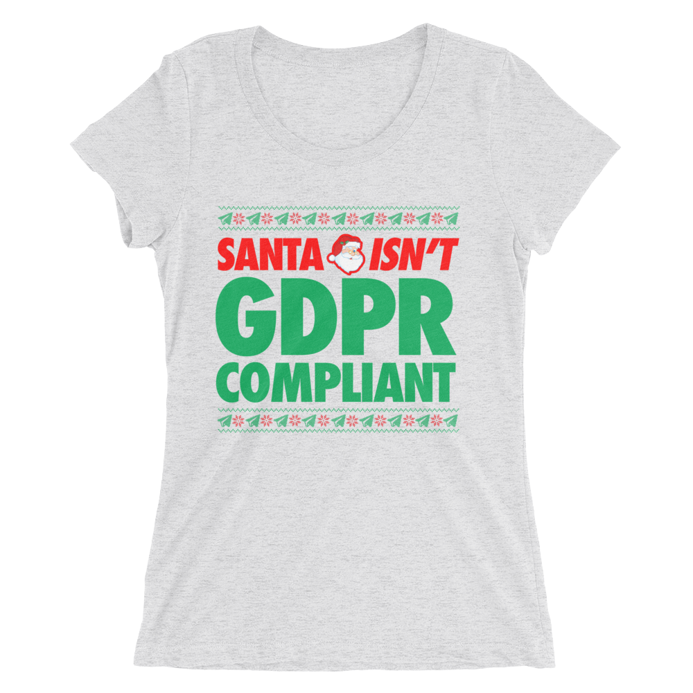 Santa Isn't GDPR Compliant (Women's)