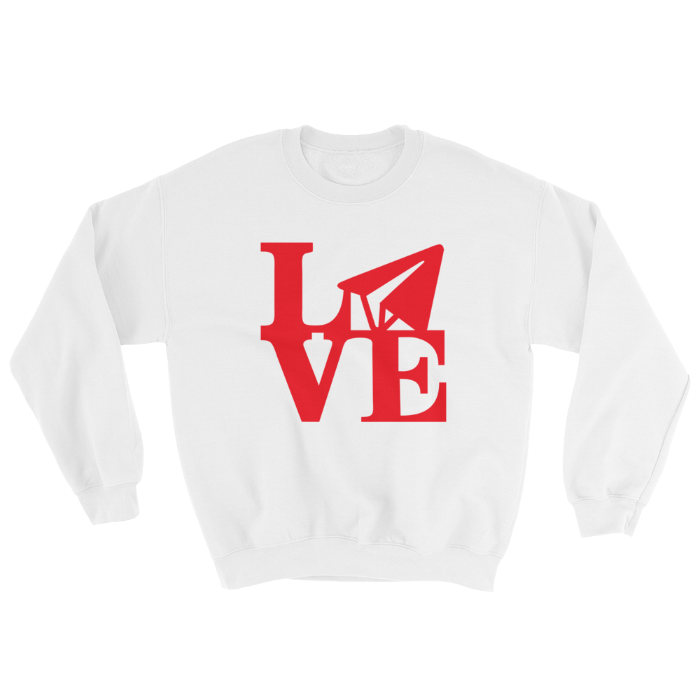 Email Love - Red (Crewneck)