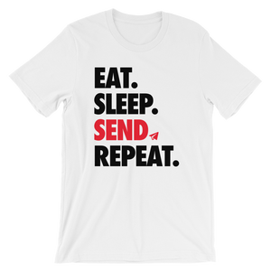 Eat Sleep Send Repeat (Unisex)