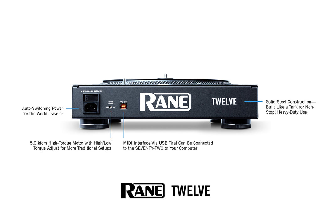 Rane TWELVE - DJ TechTools