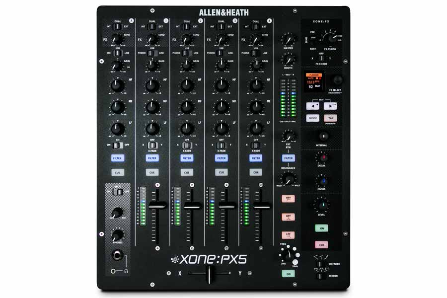 Allen & Heath Xone:PX5 - DJ TechTools