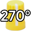 Super Knob 270° / Yellow