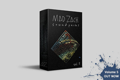 Mad Zach Sound Packs - DJ TechTools