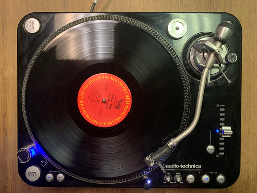 AT-LP1240-USB Turntable with Ortofon Serato S120 (Used)