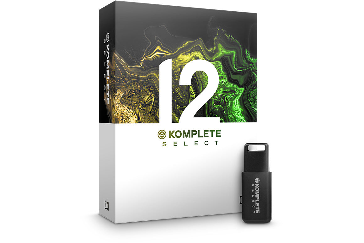 Komplete 12 Select - DJ TechTools