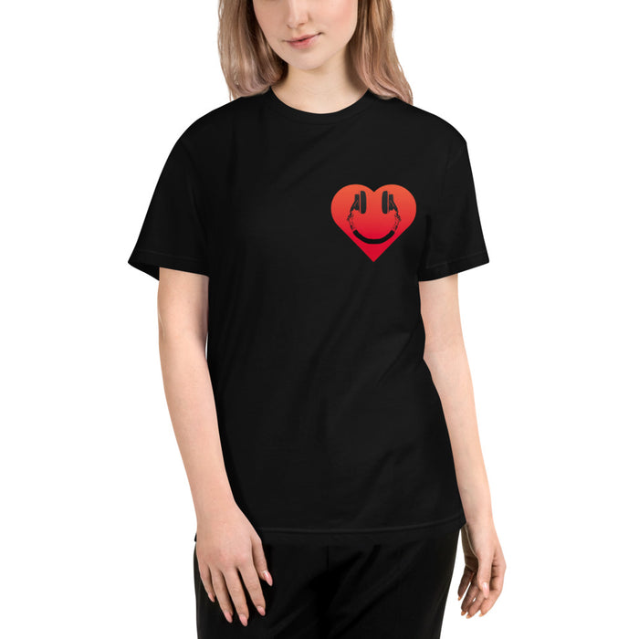 Heart Headphones DJTT T-Shirt