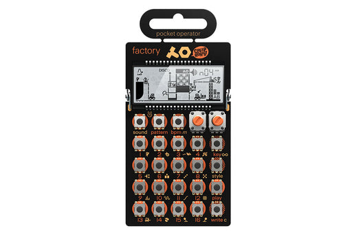 Teenage Engineering PO-16 factory - DJ TechTools