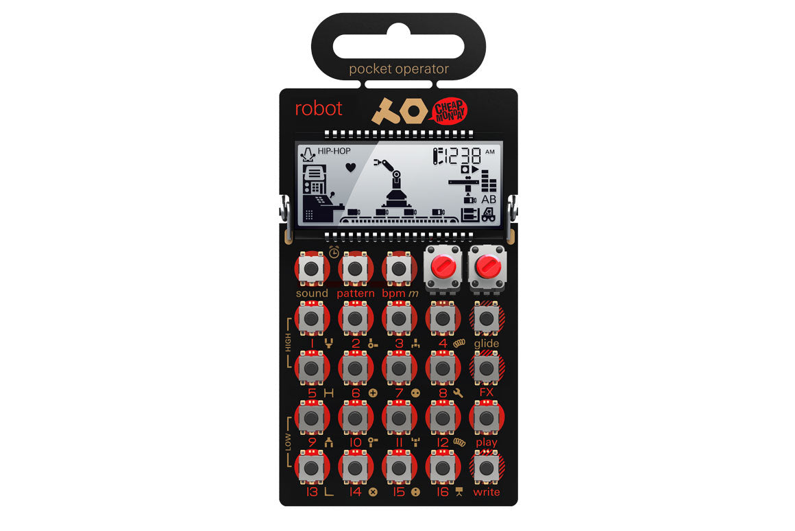 Teenage Engineering PO-28 robot - DJ TechTools