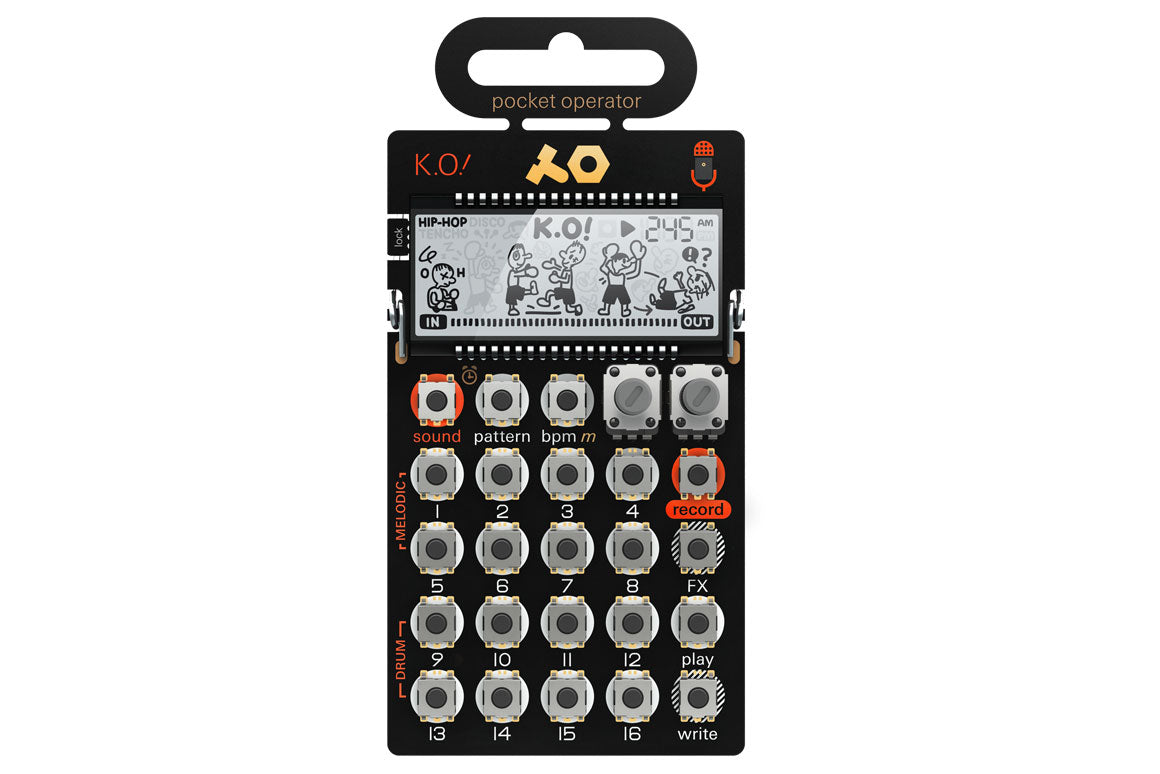 Teenage Engineering PO-33 ko - DJ TechTools