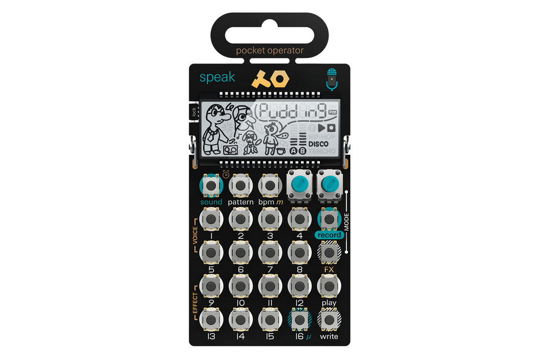 Teenage Engineering PO-35 speak - DJ TechTools