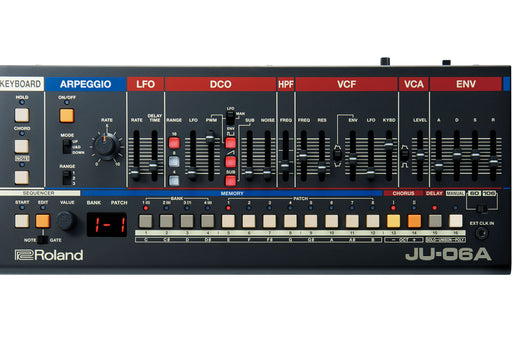 Roland JU-06A Boutique Synthesizer - DJ TechTools