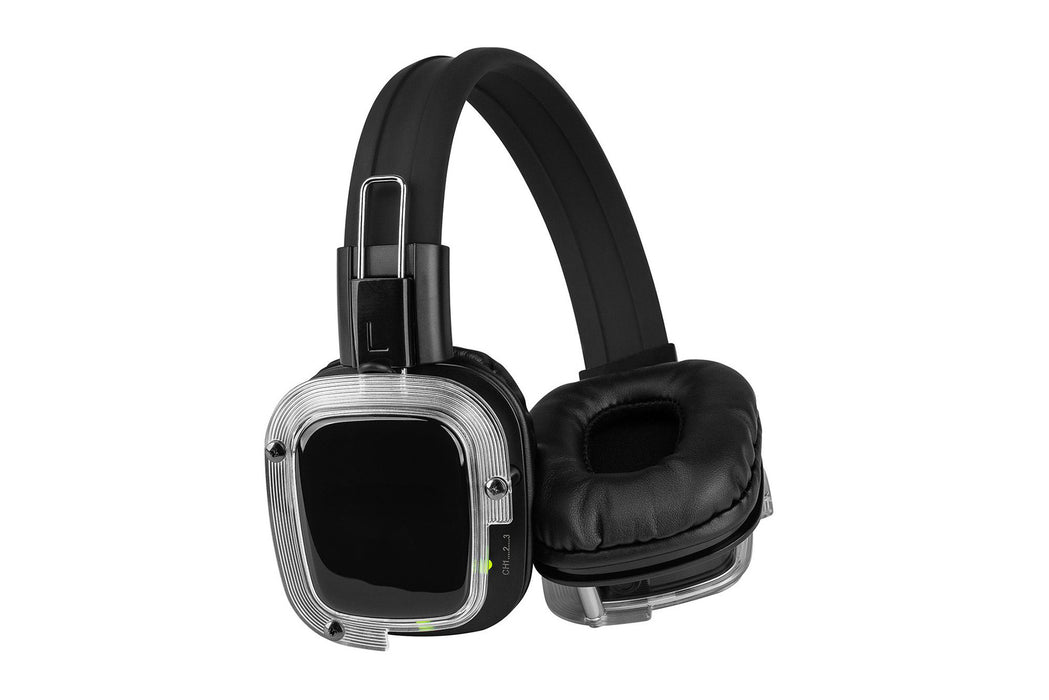 Wireless, battery powered Silent Disco package for OutDoor DJ and Yoga events