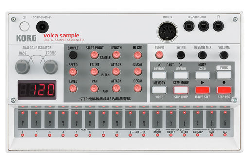 Korg Volca Sample - DJ TechTools