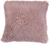 Fluffy pude rosa 70x70cm