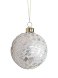 X-mass hanger ball mat champagne glass 8cm