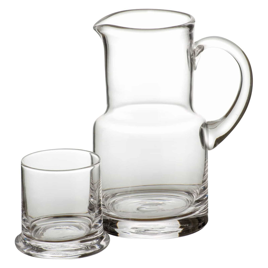 Jug With glass 0,5 Ltr. -H 16,6 0,5 Ltr.
