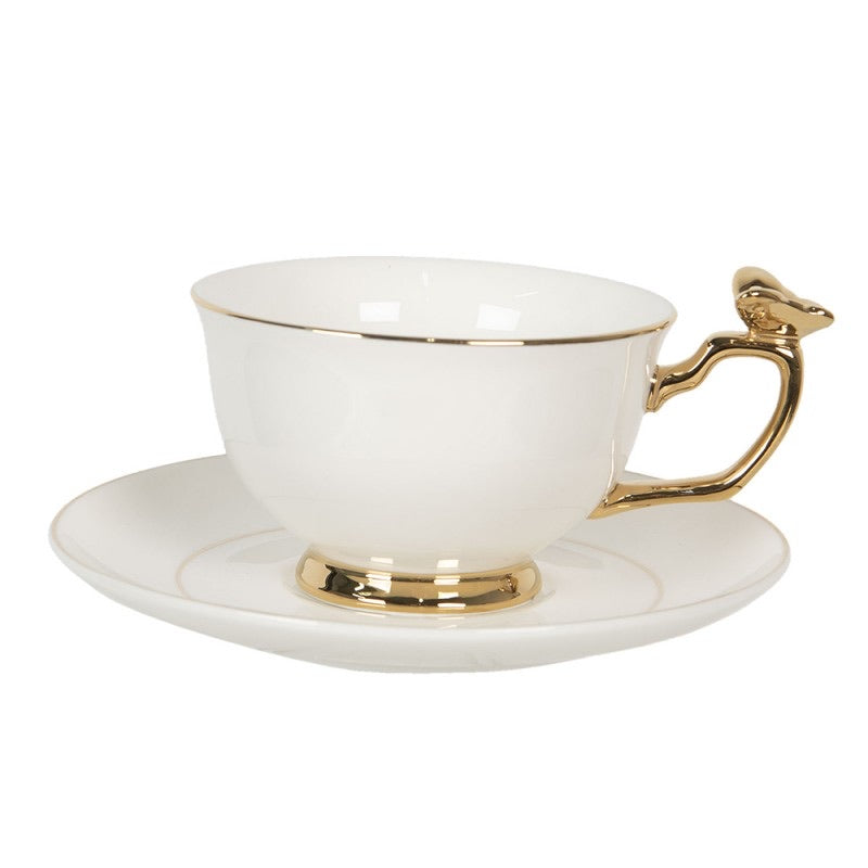Cup and saucer Ø 15x7 cm 1 0,2L