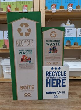 Waste Management at Great Lakes Refill