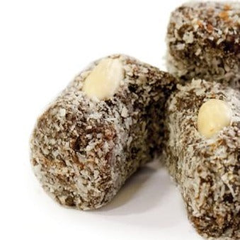 Coconut Rolled Dates