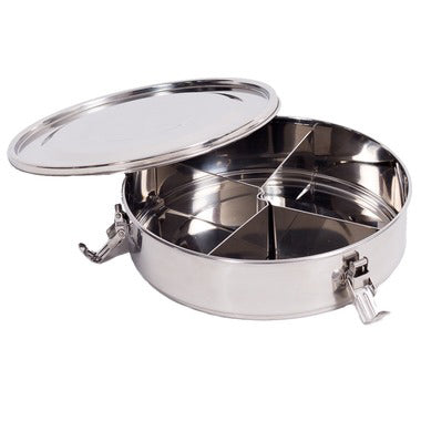 Stainless Steel Containers, Airtight (Divided)