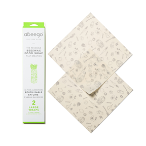 Beeswax Wraps, Abeego - 2 Large