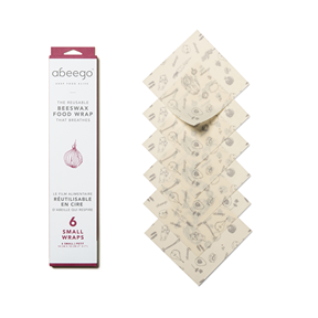 Beeswax Wraps, Abeego - 6 Small