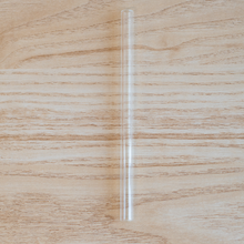 Load image into Gallery viewer, Glass Straws, Small, Straight, Clear