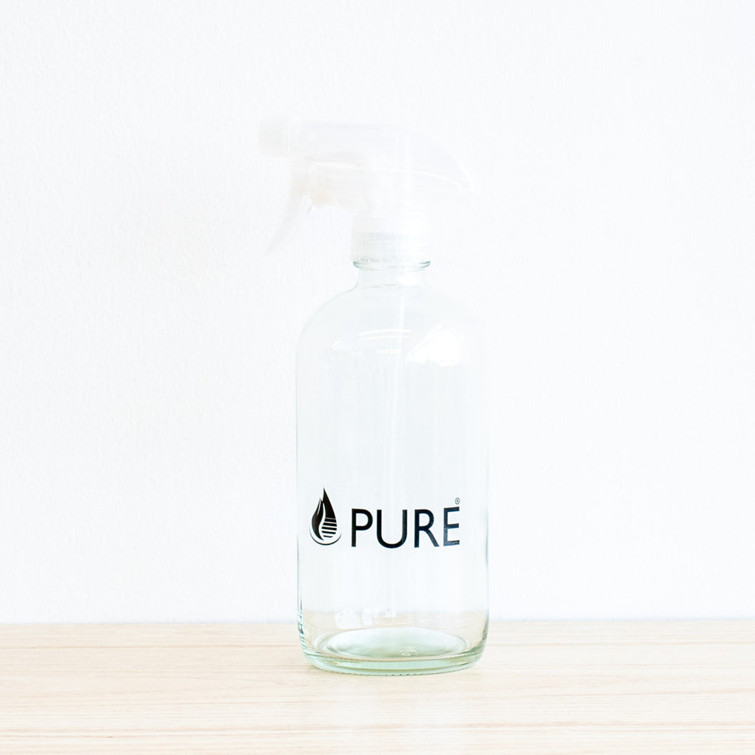 Glass Spray Bottle, Pure, 500 mL