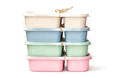 Lunch Box, Wheatstraw, Assorted Colours