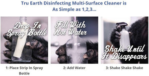 Multisurface Cleaning Strip