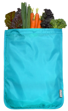 Produce Mesh Bag, Chico, Blue Solid 1-pack