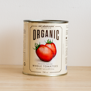 Canned Organic Whole Tomatoes