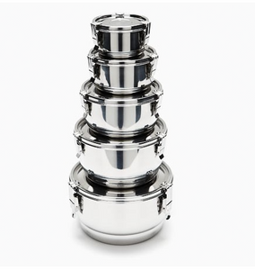 Stainless Steel Containers, Airtight (18 cm)