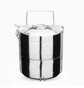 Stainless Steel Containers, Onyx, 2-tier