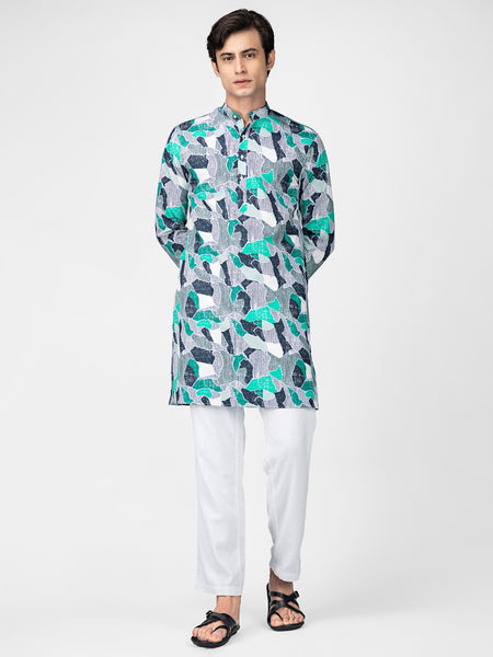 Abstract Kurta