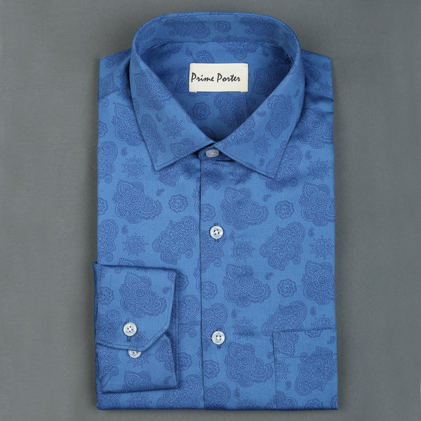 Print Paisely shirt for men